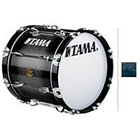 Tama Marching Bubinga/ Birch Bass Drum Smoky  ...