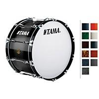 Tama Marching Bubinga/ Birch Bass Drum Red Sparkle Fade 14X28