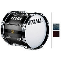 Tama Marching Maple Bass Drum Smoky Indigo Fade 14X24