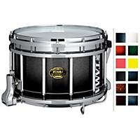 Tama Marching Bubinga/ Birch Snare Drum Smoky Indigo Fade 9X14