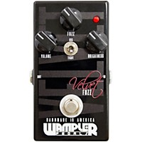 Wampler Velvet Fuzz Guitar Effects Pedal Black
