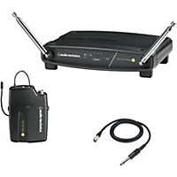 Audio-Technica Atw-901/G System 9 Vhf Wireless Guitar System 169.505 To 171.905 Mhz