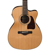 Ibanez Ac450cent Artwood Solid Top Grand Concert Acoustic-Electric Guitar Natural