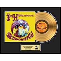 24 Kt. Gold Records Jimi Hendrix Are You Experienced Gold Lp Limited Edition Of 2500