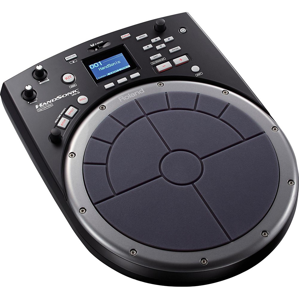 Roland Handsonic Hpd-20 Digital Hand Percussion Controller Black
