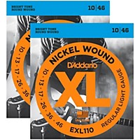 D'addario Exl110 Nickel Wound Light Electric  ...