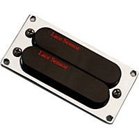 Lace Sensor Red-Red Dually T-Plus Humbucker Guitar Pickup Black Bridge