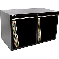 Sefour Vinyl Record Carry Box Black