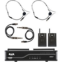 Cad Gxlvbb Dual Channel Vhf Wireless System Freq. J