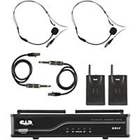 Cad Gxlvbb Dual Channel Vhf Wireless System Freq. J