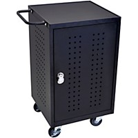 H. Wilson 30 Tablet Charging Cart With Rfid