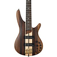 Ibanez Sr1805e Premium 5-String Electric Bass Flat Natural Rosewood Fretboard
