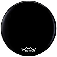 Remo Powermax 2 Marching Bass Drum Head Ebony 24 In.