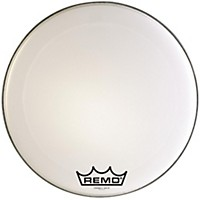 Remo Powermax 2 Marching Bass Drum Head Ultra White 24 In.