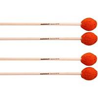 Malletech Sammut Marimba Mallets Set Of 4 (2 Matched Pairs) 16
