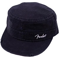 Fender Logo Military Cap Black L/Xl