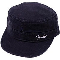 Fender Logo Military Cap Black S/M
