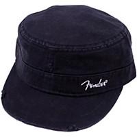 Fender Logo Military Cap Black S/M