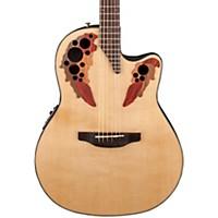 Ovation Celebrity Elite Acoustic-Electric Guitar Natural