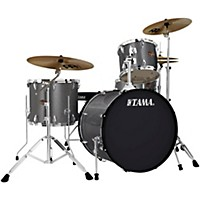 Tama Imperialstar 4-Piece Drum Kit With Cymbals Galaxy Silver