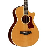 Taylor 512Ce Grand Concert 12-Fret Cutaway Es2 Acoustic-Electric Guitar Medium Brown Stain