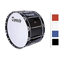Dynasty Marching Bass Drum White 16X14