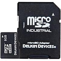 Delkin Microsd Memory Card Uhs-1 8 Gb