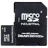 Delkin Microsd Memory Card Uhs-1 4 Gb
