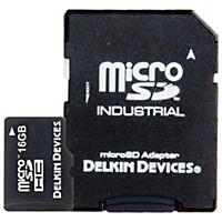 Delkin Microsd Memory Card Uhs-1 16 Gb