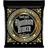 Ernie Ball Aluminum Bronze Extra Light  ...