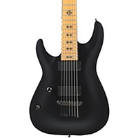 Schecter Guitar Research Jeff Loomis Jl-7 7-String Left-Handed Electric Guitar Black