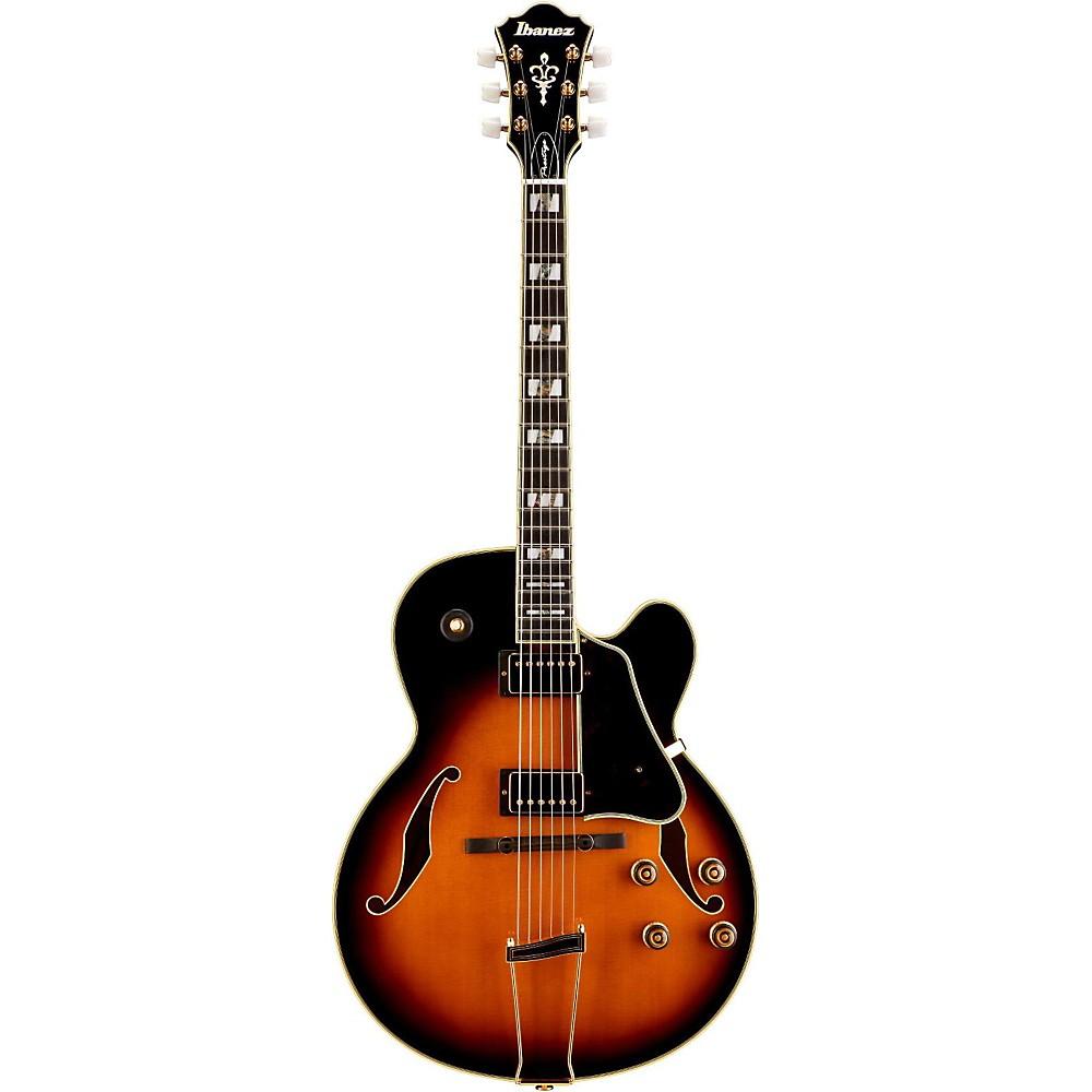 Ibanez AF200 Prestige Artstar Series Hollowbody Electric Guitar Brown Sunburst 1389714412016