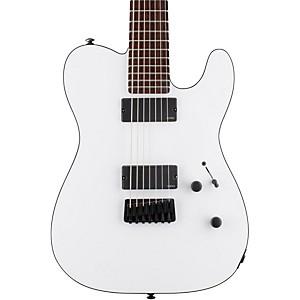 Esp Ltd Te-407 7-String Electric Guitar Snow White Satin