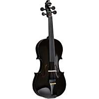 Bellafina Rainbow Series Black Violin Outfit 1/2 Size