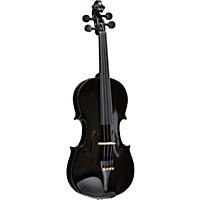 Bellafina Rainbow Series Black Violin Outfit 4/4 Size
