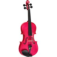 Bellafina Rainbow Series Rose Violin Outfit 4/4 Size