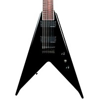 B.C. Rich Jrv Lucky 7 7-String Electric Guitar Black