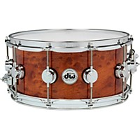 Dw Exotic Sapele Pommele Lacquer Snare 14 X  ...