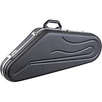 Hiscox Cases Pro Ii Series Tenor Sax Case Black Shell, Blue Interior