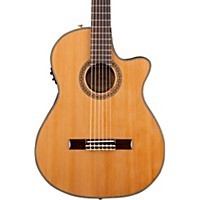 Fender Cn-240Sce Thinline Classical Acoustic Electric Guitar Natural