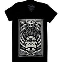 Fender High Voltage Ladies T-Shirt Black Large