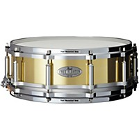 Pearl Free Floating Brass Snare Drum 14 X 5  ...