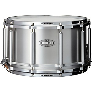 Pearl Free Floating Seamless Aluminum Snare Drum 14X8 Inch