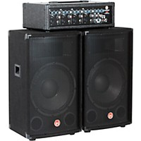 Harbinger M120 120 Watt 4 Channel Compact Portable Pa With 12