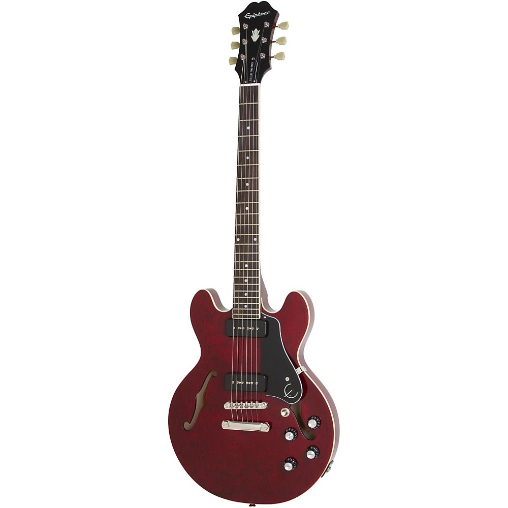 Epiphone ES-339 P90 PRO Semi-Hollowbody Electric Guitar Wine Red -  ET93WRNH3