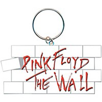 Rock Off Pink Floyd The Wall Key Ring Wall Logo Keychain
