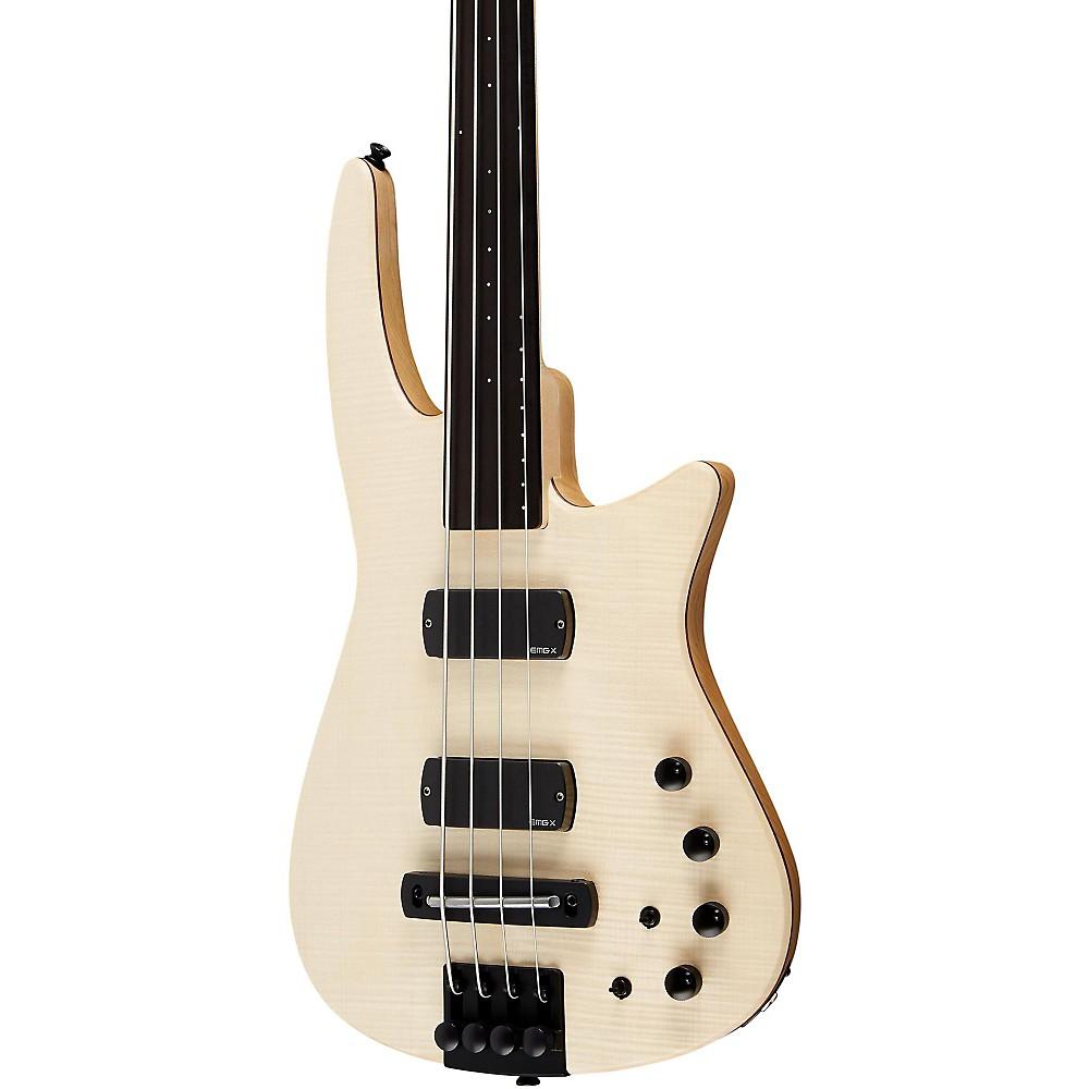 NS Design CR4 Fretless Electric Bass Guitar Satin Natural 1395960197001