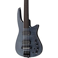 Ns Design Cr4 Fretless Electric Bass Guitar Charcoal Stain
