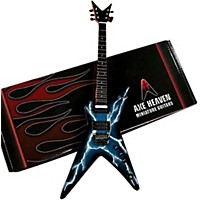 Axe Heaven Lightning Bolt Signature Model Miniature Guitar Replica Collectible