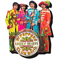 Hal Leonard The Beatles Sgt. Pepper  Chunky Magnet